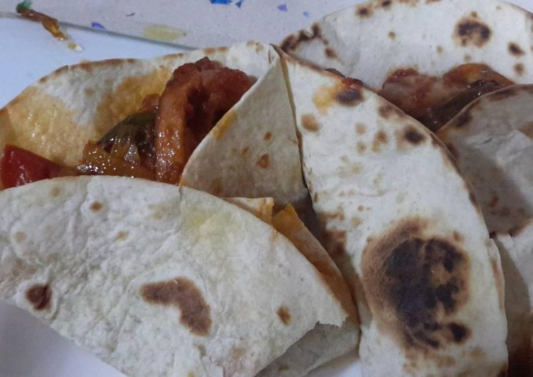 Easiest Way to Prepare Tasty Burrito de pollo