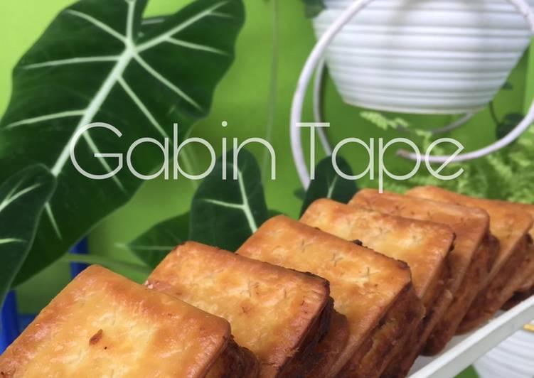 Cara Memasak Kue biskuit tape (Gabin Tape) kekinian