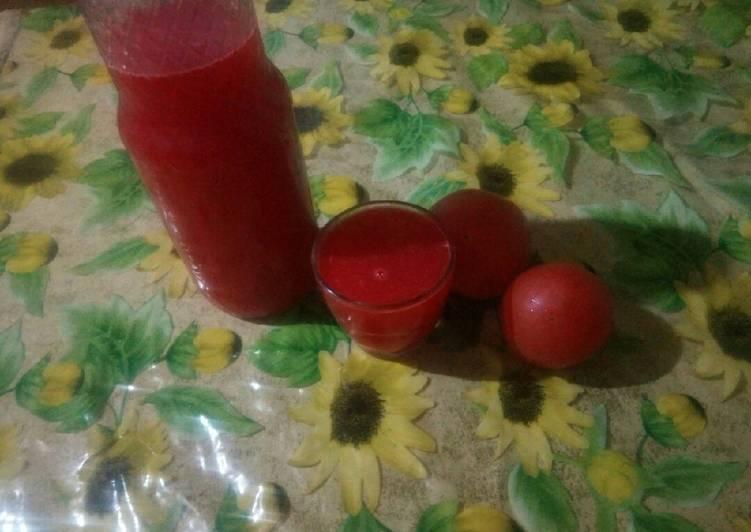 Comment Préparer Les Jus de tomate bio