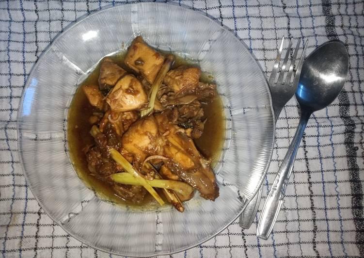 Ayam Kecap Ungkep