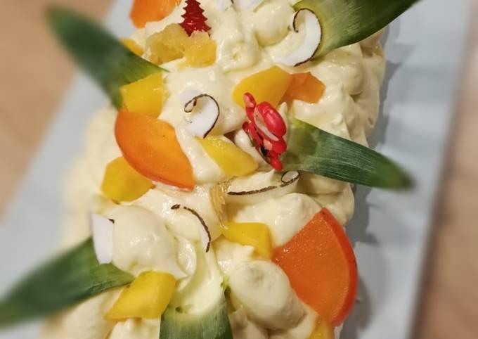 Pavlova ananas, recette de David Gallienne #cookexpertmagimix