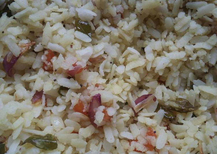 Flattened rice - Laurie G Edwards