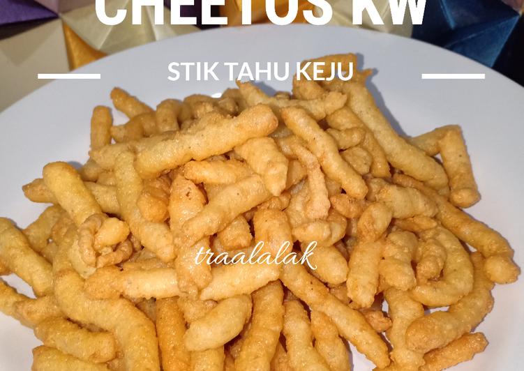 Stik Tahu Keju (Cheetos ala-ala)/cheetos KW