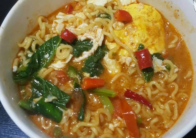 Resep Indomie Kuah Pedas Oleh Emma Aw Yang Kitchen Cookpad