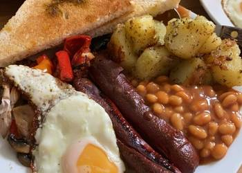 Easiest Way to Prepare Tasty English Healthy Breakfast