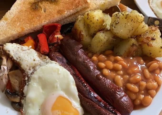 English Healthy Breakfast