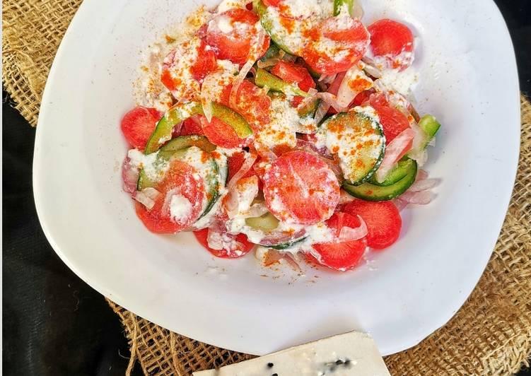 Vegetable salsla