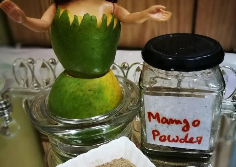 Steps to Make Super Quick Homemade Dry Amchoor powder