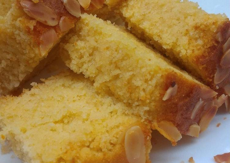 Try Using Food to Improve Your Mood Semolina Cake