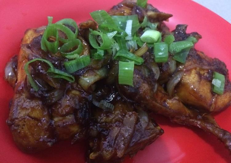 Cara Praktis Menyiapkan Makanan Ayam Goreng Mentega Asem Manis Pedas Bikinramadanberkesan Super Praktis