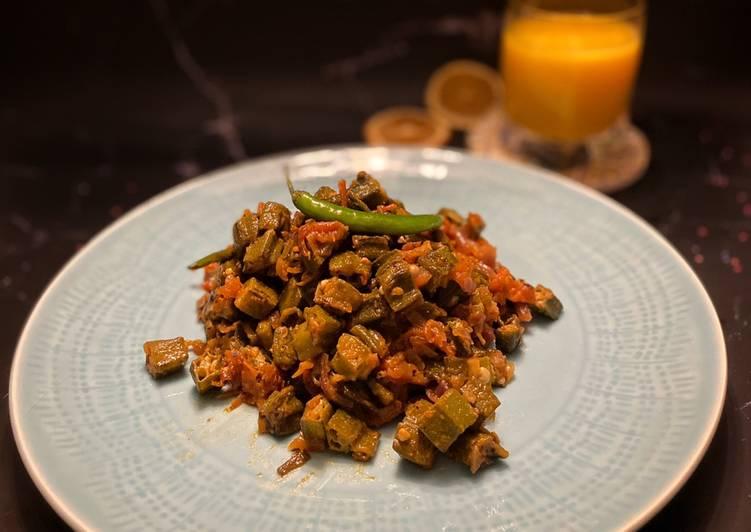 Recipe of Perfect Bhindi masala (Ladyfinger dry curry)