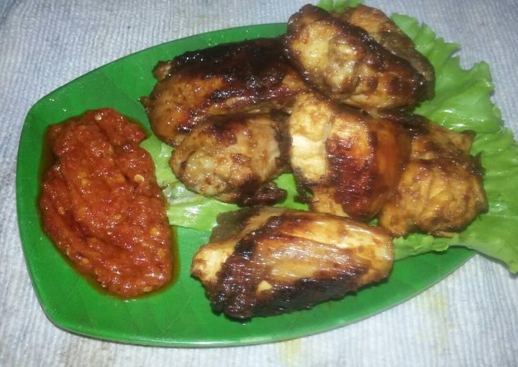 Langkah Mudah untuk Membuat Ayam Bakar Taliwang #108 Anti Gagal