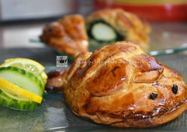 Koulibiac de saumon pour Pâques