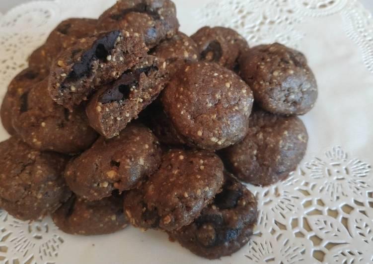 Resep 6. Kuker Coklat Kacang yang Enak