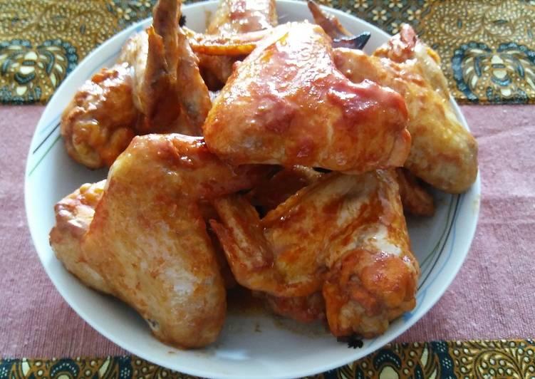 Ayam Panggang Oven (hanya 4 bumbu, simple)