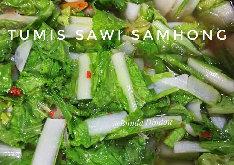 Tumis Sawi Samhong