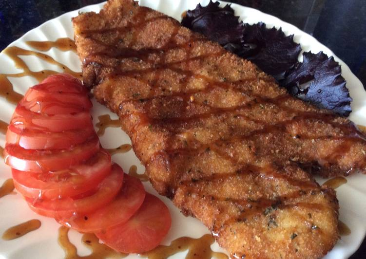 How to Make Tasty Breaded Fish Fillet