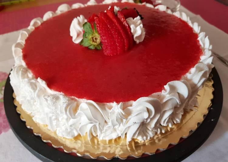 Ricetta Cheesecake alle fragole 🍓