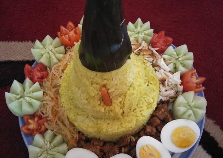 Nasi Tumpeng Mini Fatih 1 tahun