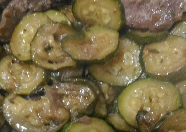 Easiest Way to Cook Yummy Turkey ossobuchi, boneless, with crispy courgettes