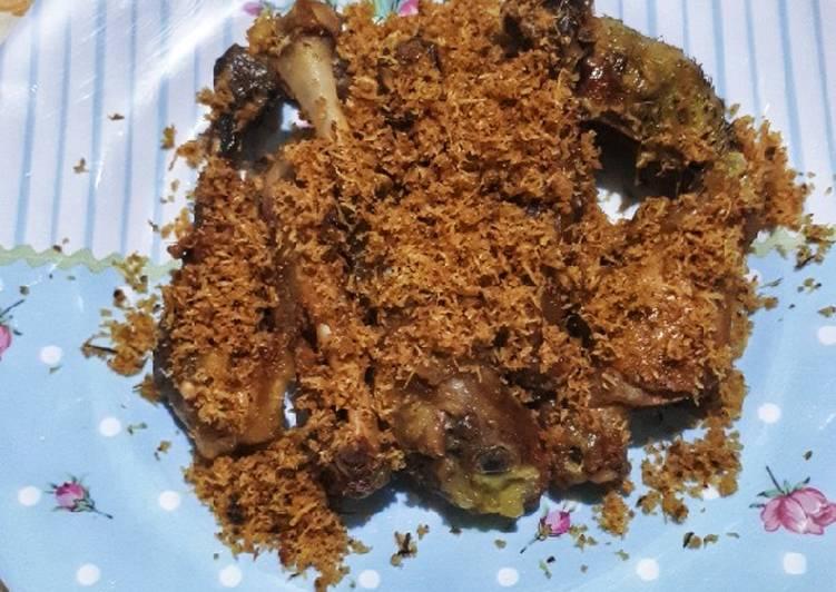 Ayam Goreng bumbu kelapa #BandungRecook_GiaCintaPermana