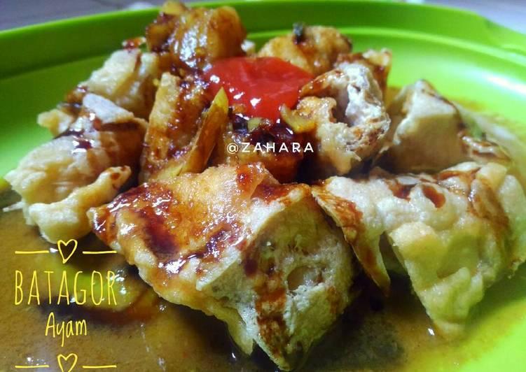 Batagor Ayam (Bakso Tahu Goreng)