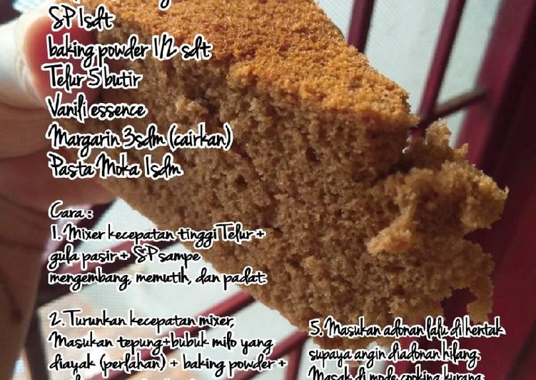 My Milo Cake (Ricecooker)
