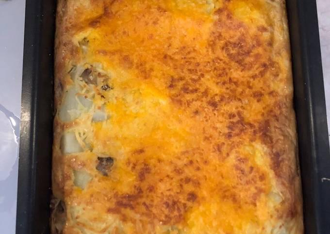 Celine Oyster Mushroom Omelette