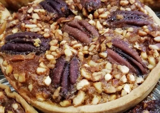 Pecan pie (tartelettes aux noix de pécan)