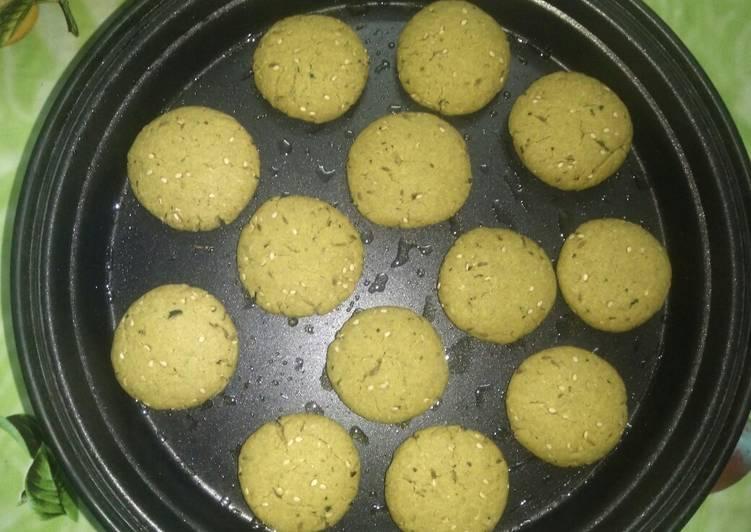 Perl milet masala cookies