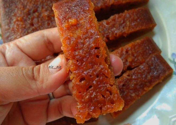 resep memasak Bolu karamel kukus no mixer - Sajian Dapur Bunda