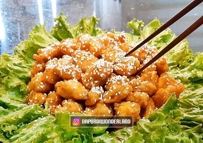 Ayam Goreng Saus Madu / Honey Butter Chicken
