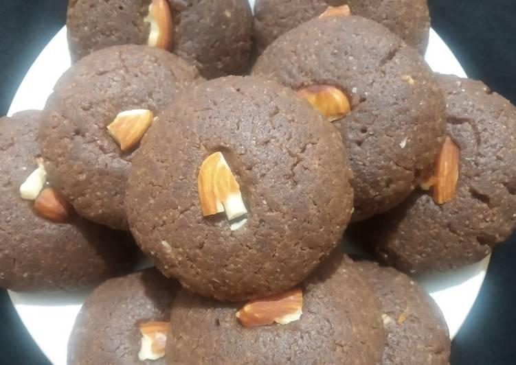 Wheat flour chocolate nankhatai