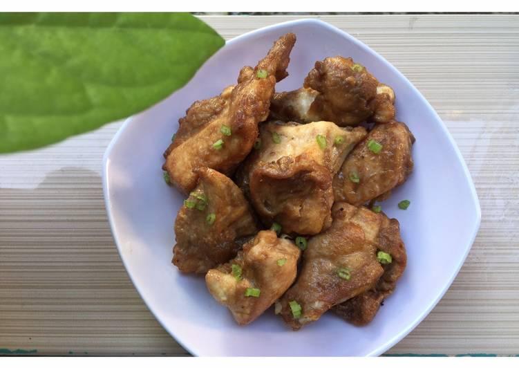 Ayam Goreng Belacan (Masak mudah dengan Royco bumbu instant)