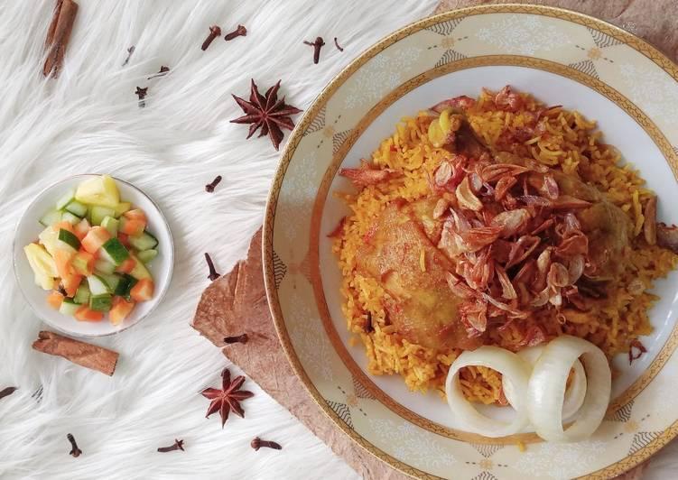 Nasi Briyani / Biryani Ayam