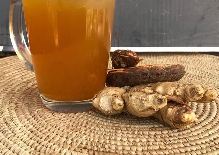 Tamarind & Ginger Drink