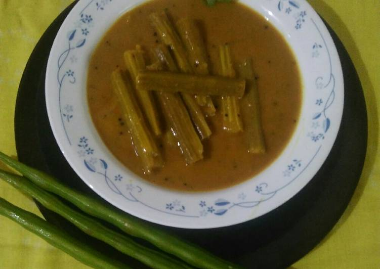 Drumstick curry Gujarati style