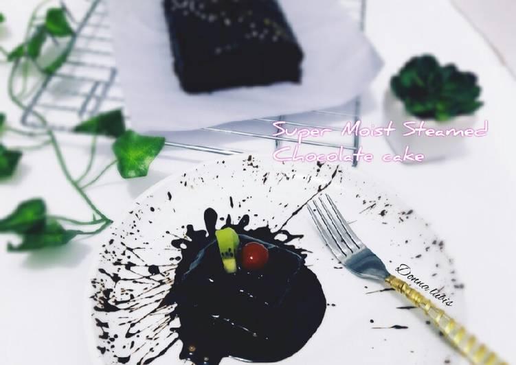 Super Moist Steamed Chocolate cake