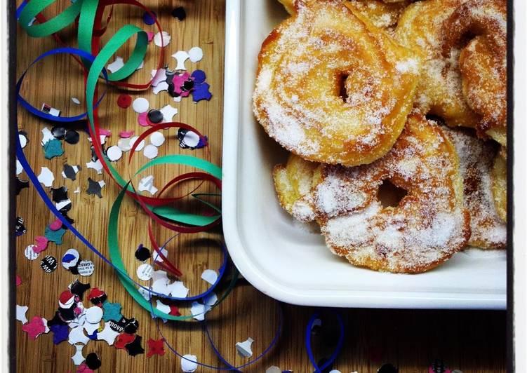 Beignets aux Pommes Express pour Mardi-Gras !