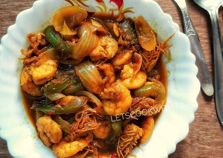Steps to Make Top-Rated Chilli Prawn