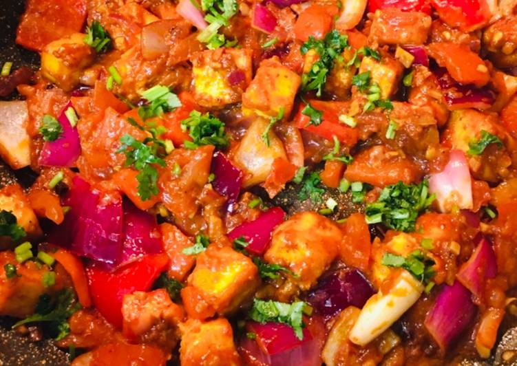 Recipe of Quick Chilli paneer