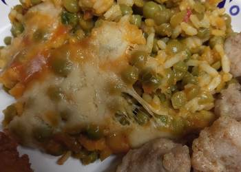 How to Cook Tasty Yellow Rice and Lentils with Chicken