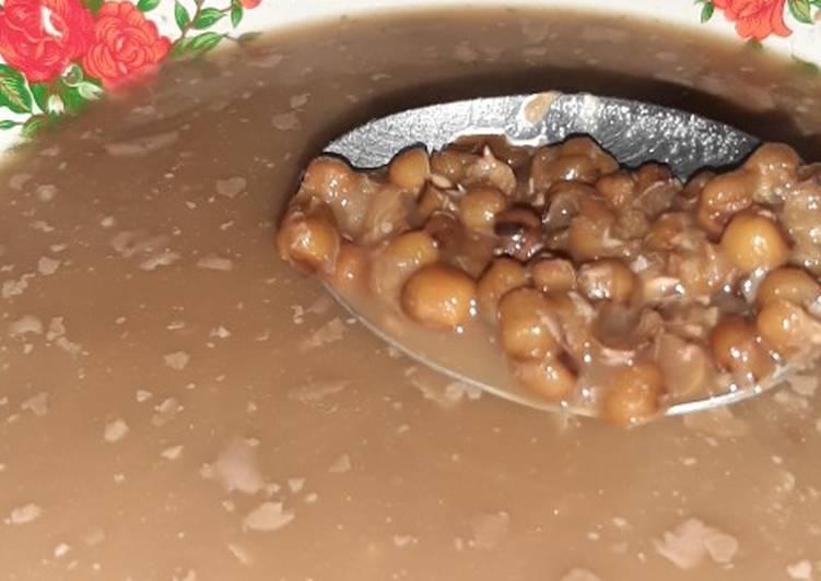 Bubur Kacang Ijo Slow Cooker