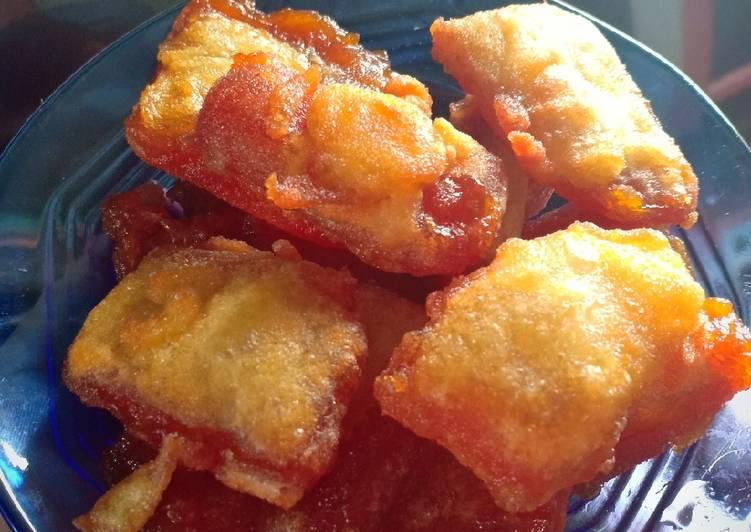 Kue Keranjang Goreng (simple) - cookandrecipe.com