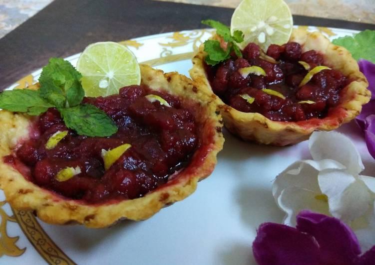 Recipe of Ultimate Blueberry Tart