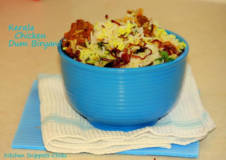 How to Prepare Homemade Kerala Chicken Dum Biryani