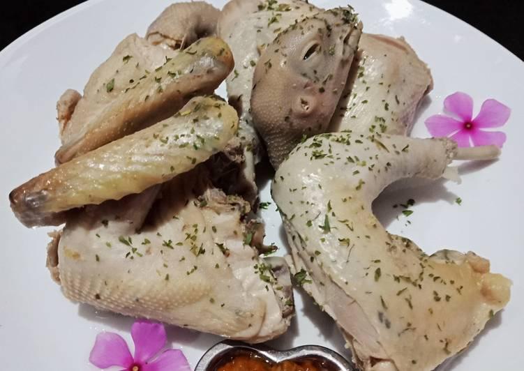 Resep Ayam Rebus Kalasan Anti Gagal