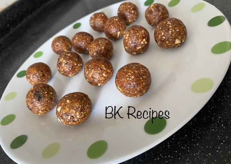 Recipe: Delicious Healthy Immunity Balls