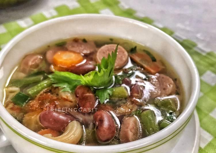 Sup Kacang Merah, Empuk dg Metode 5-30-7-30