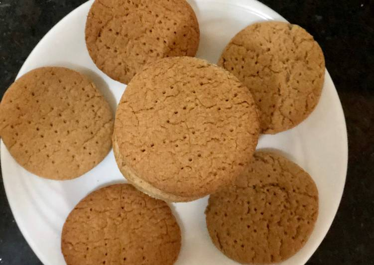 How to Prepare Super Quick Homemade Wholemeal Cookies